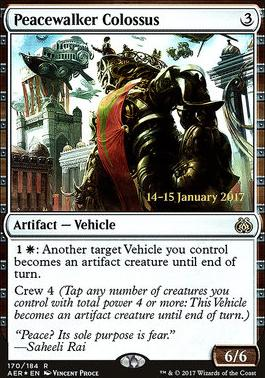 Promotional: Peacewalker Colossus (Prerelease Foil)