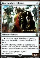 Promotional: Peacewalker Colossus (Prerelease Foil)
