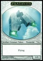Promotional: Pentavite Token (Mirrodin)