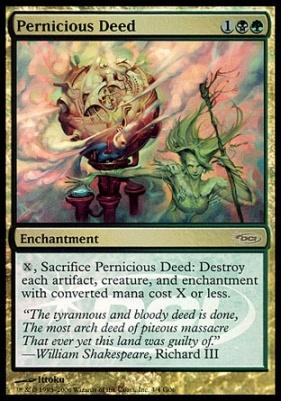 Promotional: Pernicious Deed (Judge Foil)