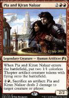 Promotional: Pia and Kiran Nalaar (Prerelease Foil)