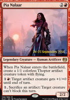 Promotional: Pia Nalaar (Prerelease Foil)