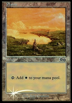 Promotional: Plains (Arena 1999 Foil)