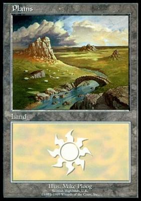 Promotional: Plains (Euro Set Blue)
