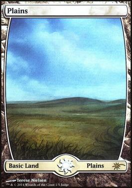Promotional: Plains (Full-art Judge Foil)