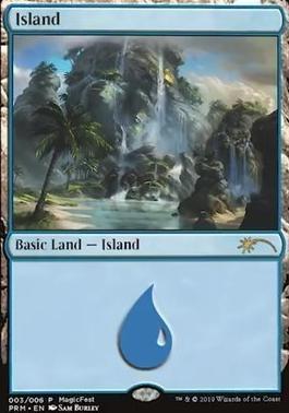 Promotional: Island (MagicFest Foil - 2019)