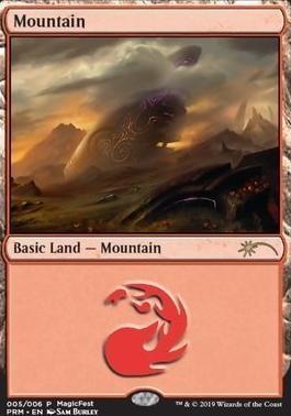 Promotional: Mountain (MagicFest Foil - 2019)