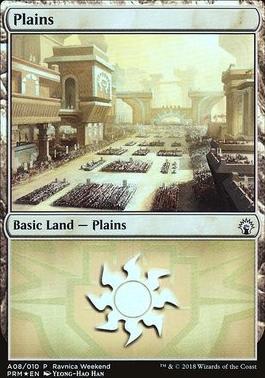 Promotional: Plains (Ravnica Weekend - A08 Foil)