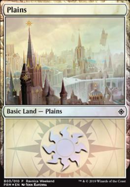 Promotional: Plains (Ravnica Weekend - B03 Foil)