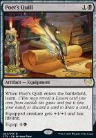 Promotional: Poet's Quill (Prerelease Foil)