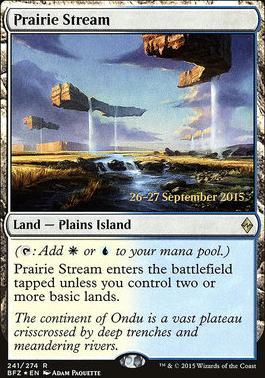 Promotional: Prairie Stream (Prerelease Foil)
