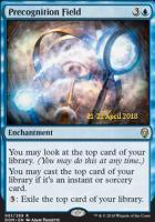 Promotional: Precognition Field (Prerelease Foil)