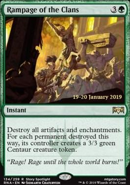 Promotional: Rampage of the Clans (Prerelease Foil)