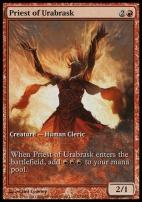 Promotional: Priest of Urabrask (Game Day Extended Art)
