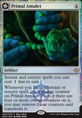 Promotional: Primal Amulet (Buy-a-Box Foil)