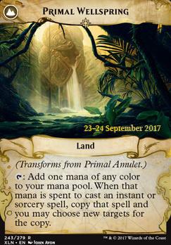 Promotional: Primal Amulet (Prerelease Foil)