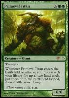 Promotional: Primeval Titan (Grand Prix Foil)