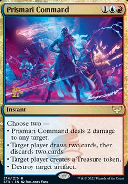 Promotional: Prismari Command (Prerelease Foil)
