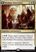 Promotional: Profane Procession (Prerelease Foil)