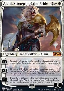 Promo Pack: Ajani, Strength of the Pride (Promo Pack)