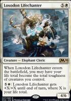 Promo Pack Foil: Loxodon Lifechanter (Promo Pack)
