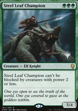 Promo Pack Foil: Steel Leaf Champion (Promo Pack)