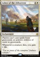 Promo Pack Foil: Ashes of the Abhorrent (Promo Pack)
