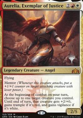 Promo Pack: Aurelia, Exemplar of Justice (Promo Pack)