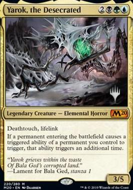 Promo Pack: Yarok, the Desecrated (Promo Pack)