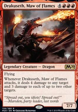Promo Pack: Drakuseth, Maw of Flames (Promo Pack)