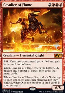 Promo Pack: Cavalier of Flame (Promo Pack)