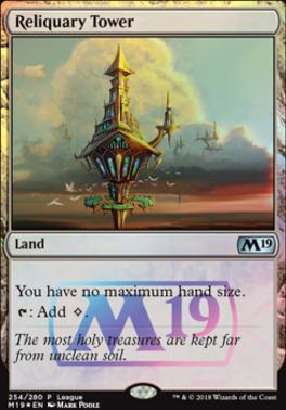 Promotional: Reliquary Tower (Magic League Foil)