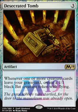 Magic The Gathering Cards | Promotional | Desecrated Tomb | (Draft