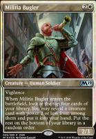 Promotional: Militia Bugler (FNM Foil)
