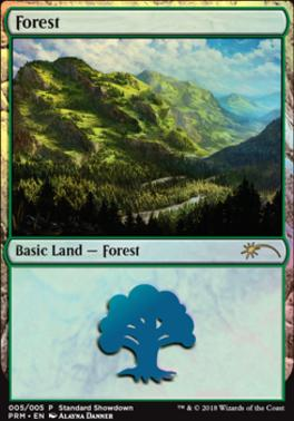 Promotional: Forest (Standard Showdown 2018)