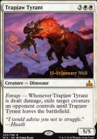 Promotional: Trapjaw Tyrant (Prerelease Foil)