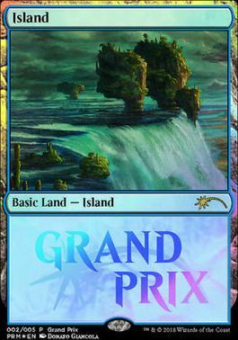 Promotional: Island (Grand Prix Foil)