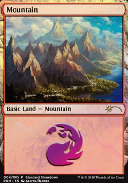 Promotional: Mountain (Standard Showdown 2018)