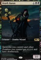 Promotional: Death Baron (Convention Foil)