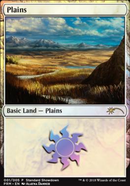 Promotional: Plains (Standard Showdown 2018)