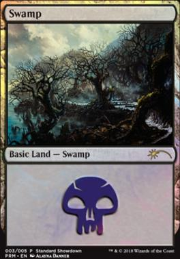 Promotional: Swamp (Standard Showdown 2018)
