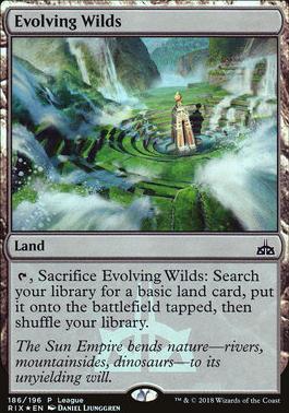 Promotional: Evolving Wilds (Magic League Foil)