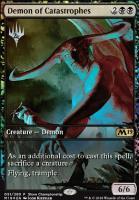 Promotional: Demon of Catastrophes (Store Championship Foil)