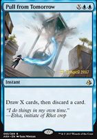 Promotional: Pull from Tomorrow (Prerelease Foil)