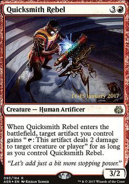 Promotional: Quicksmith Rebel (Prerelease Foil)