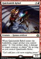 Promotional: Quicksmith Rebel (Prerelease Foil)