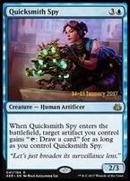 Promotional: Quicksmith Spy (Prerelease Foil)