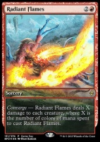 Promotional: Radiant Flames (Game Day Extended Art Foil)