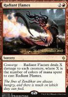 Promotional: Radiant Flames (Prerelease Foil)