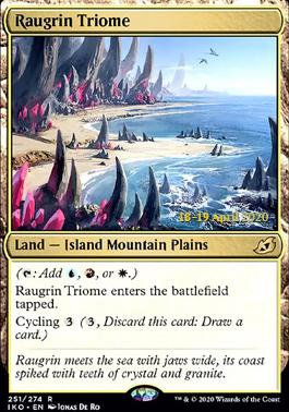 Promotional: Raugrin Triome (Prerelease Foil)